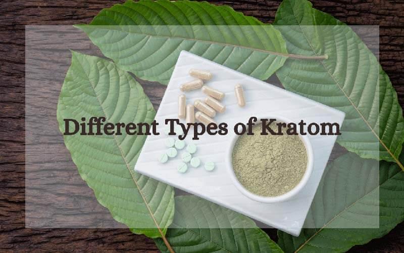 Different Types of Kratom