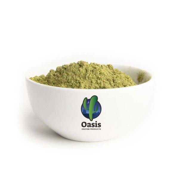 Green Hulu Kapuas Kratom Powder - product image - Oasis Kratom