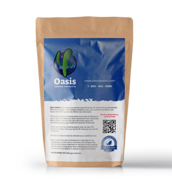 green malay kratom powder pack image_oasis kraom