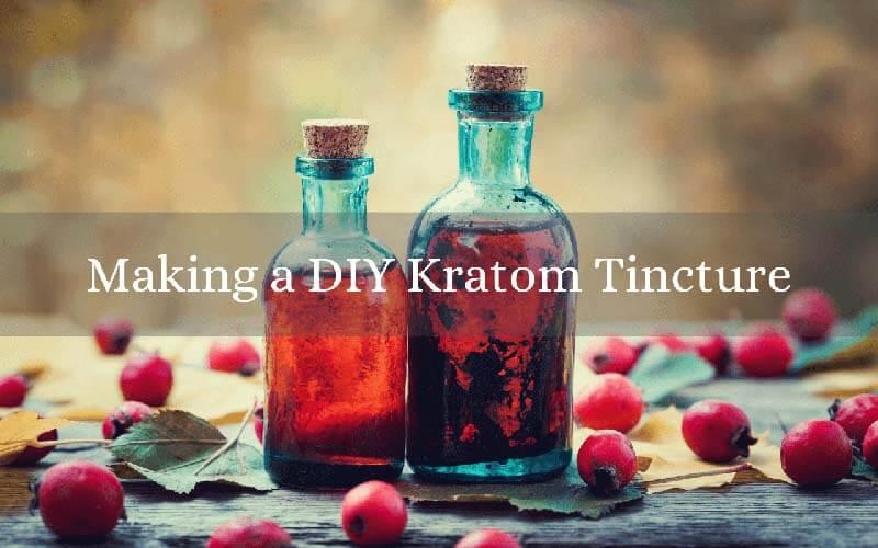 Making a DIY Kratom Tincture - by Oasis Kratom
