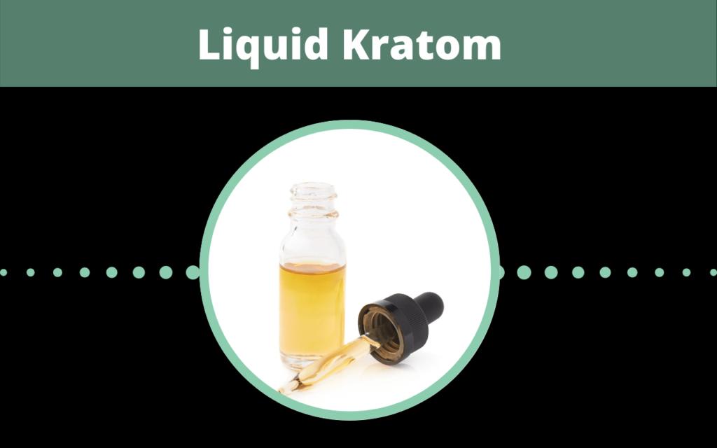 Liquid kratom