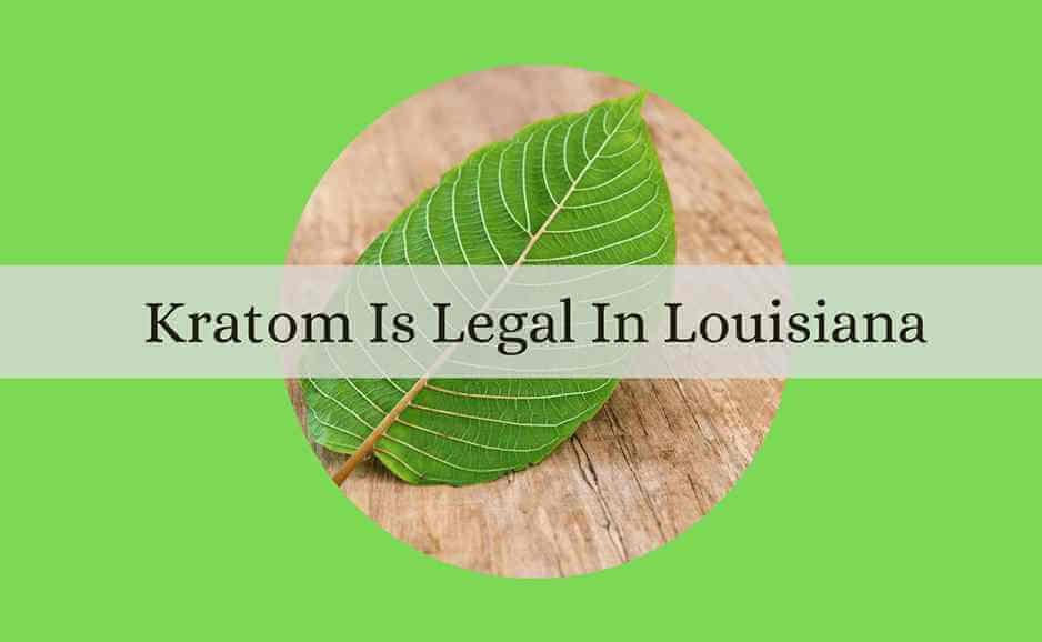 kratom is legal in louisiana-oasis kratom
