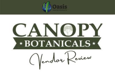 Canopy Botanicals Vendor Review - Oasis Kratom