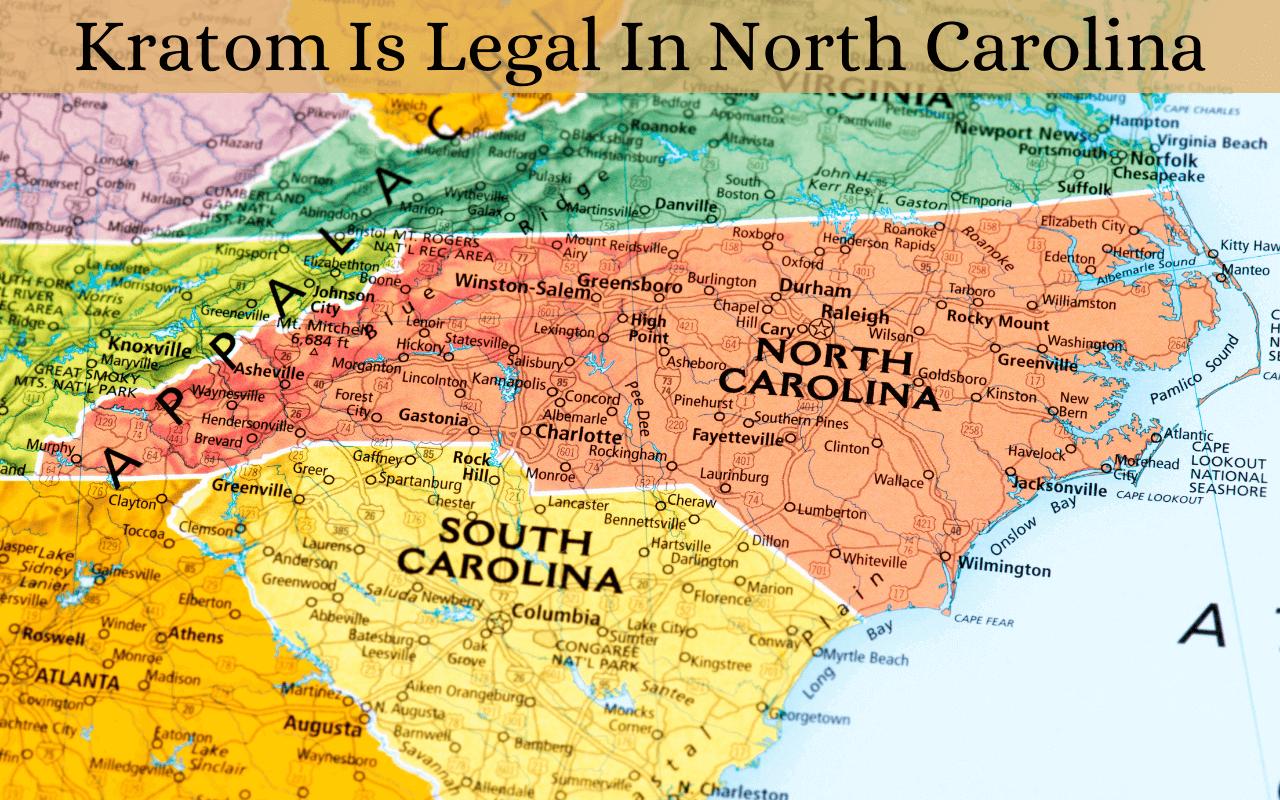 Is kratom legal in North Carolina