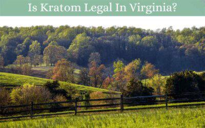 Is Kratom Legal In Virginia - Oasis Kratom