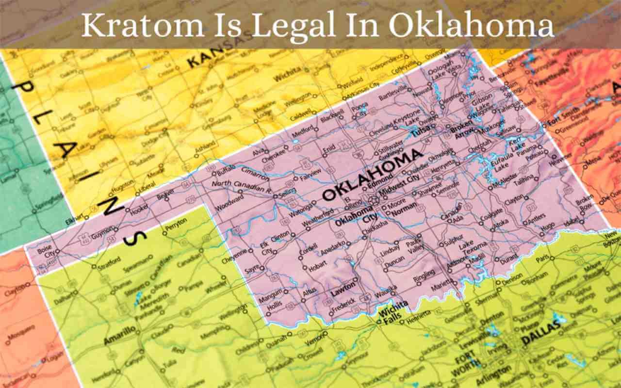 kratom is legal in oklahoma - oasis kratom