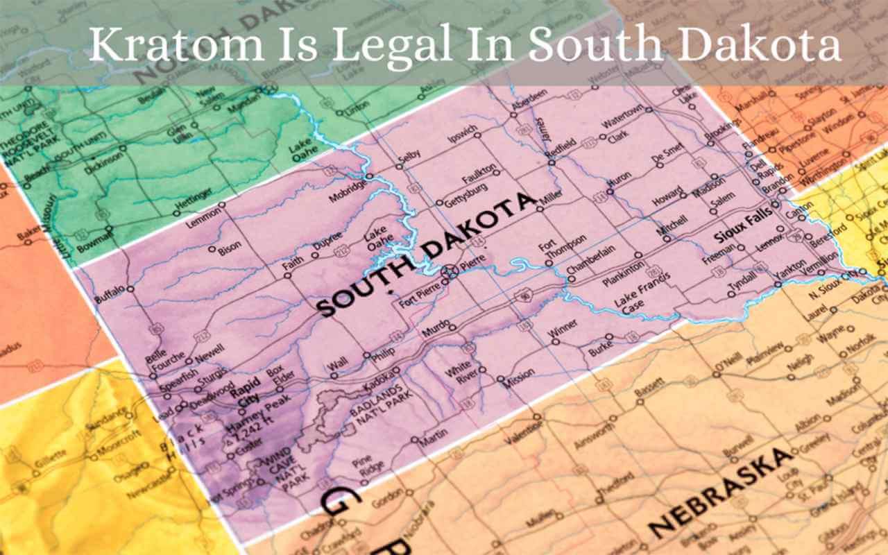 kratom is legal in south dekota - oasis kratom