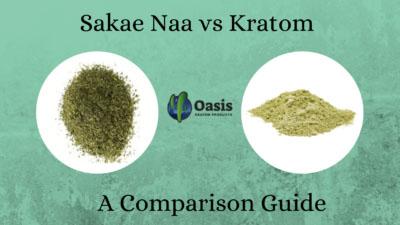 Sakae Naa vs Kratom - Oasis Kratom