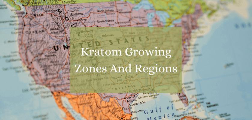 Kratom Growing Zones And Regions