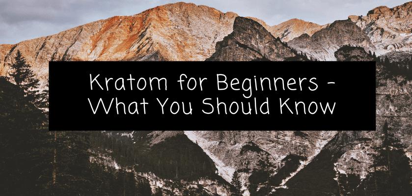 Kratom for Beginners