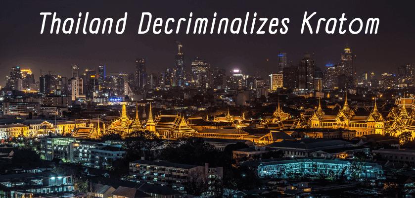 Thailand Decriminalizes Kratom