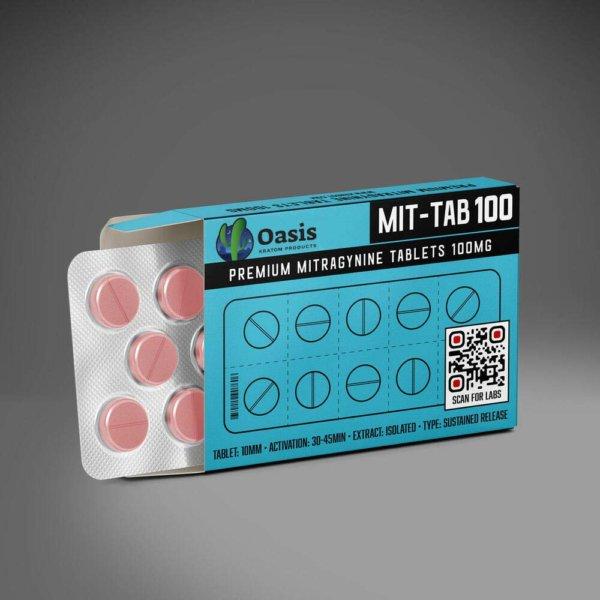 Oasis Kratom - Extract Kratom Tablets 75mg